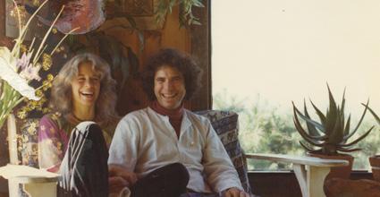 Gangaji + Eli, Bolinas 1976